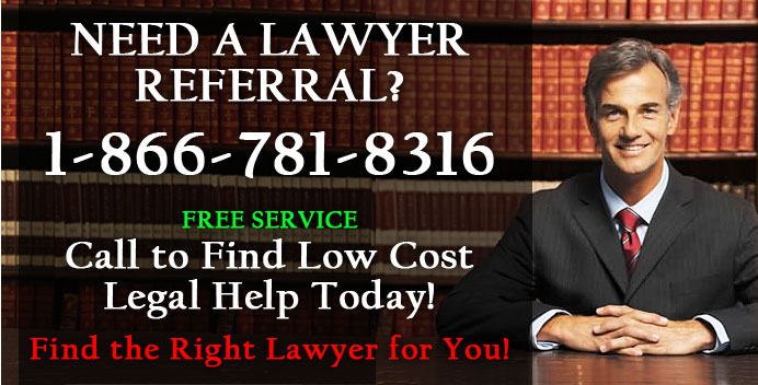 FRee legal Referral service - lawyer referral - attorney referral