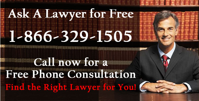 Ask a lawyer or attorney for free. Talk to legal counsel today