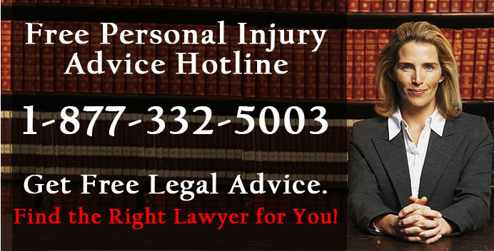 Free Legal Advice - Personal injury - Lawyers hotline helpline