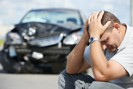 injured in a auto accident - call us