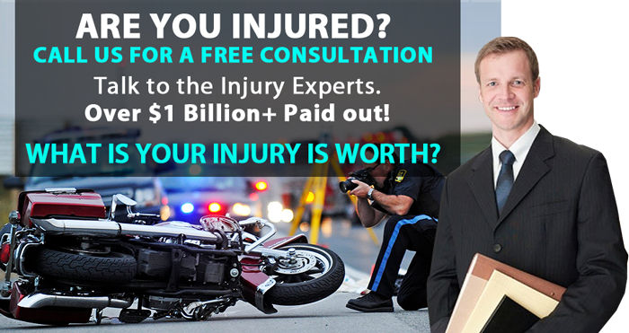motorcycle accident injury lawyer attorney