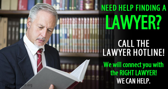 Find a lawyer today - Lawyer Hotline