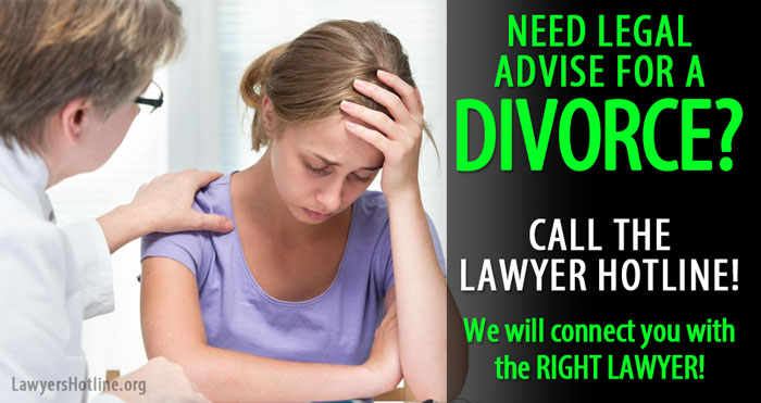Divorce Lawyer Attorney advice hotline helpline
