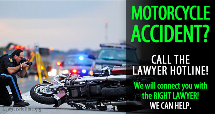 Motorcycle Accident Lawyer | Are you Injured? 1-844-854-7660