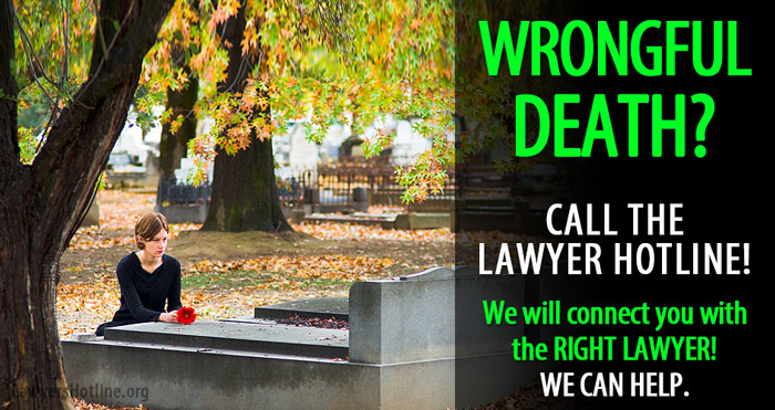 find wrongful death lawyers and attorneys